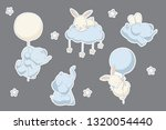 stickers set  bakery... | Shutterstock .eps vector #1320054440