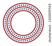 usa star vector pattern round...   Shutterstock .eps vector #1320059543