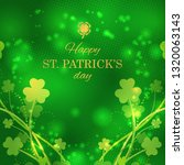 st patrick's day greeting card... | Shutterstock .eps vector #1320063143