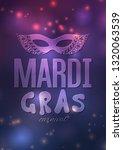 mardi gras carnival background...   Shutterstock .eps vector #1320063539