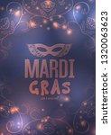 mardi gras carnival background...   Shutterstock .eps vector #1320063623