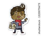 distressed sticker of a cartoon ...   Shutterstock .eps vector #1320070673