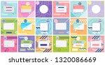 modern promotion square web...   Shutterstock .eps vector #1320086669