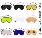 eye sleep mask vector... | Shutterstock .eps vector #1320116816