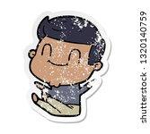distressed sticker of a cartoon ...   Shutterstock .eps vector #1320140759