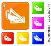 fashion belt icons set... | Shutterstock .eps vector #1320167249