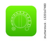cold heat regulator icon green... | Shutterstock .eps vector #1320167480