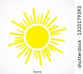 sun icon   eps   jpg   picture  ... | Shutterstock .eps vector #1320179393