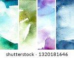 shimmer watercolor background... | Shutterstock . vector #1320181646