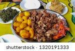 sharing platter of a... | Shutterstock . vector #1320191333