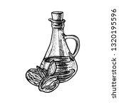 hand drawn jojoba dates with... | Shutterstock .eps vector #1320195596