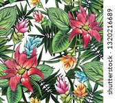 seamless floral pattern of... | Shutterstock . vector #1320216689