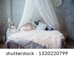 Cozy Bedroom With Canopy