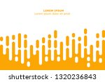 abstract yellow rounded lines... | Shutterstock .eps vector #1320236843