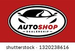 auto shop sports car dealership ... | Shutterstock .eps vector #1320238616