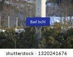 background of bad ischi train station