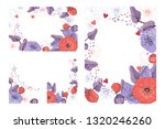 art floral greeting and... | Shutterstock .eps vector #1320246260