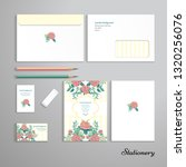 stationery with french roses... | Shutterstock .eps vector #1320256076
