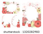 art floral greeting and... | Shutterstock .eps vector #1320282983