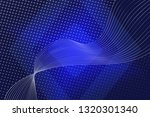 blue abstract background. azure ... | Shutterstock . vector #1320301340