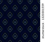 navy blue background ditzy... | Shutterstock .eps vector #1320301559