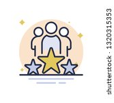 business winner vector icon | Shutterstock .eps vector #1320315353