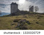 ruins of the mighty medievale... | Shutterstock . vector #1320320729