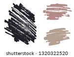 grunge marker strokes | Shutterstock .eps vector #1320322520