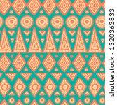 seamless ethnic pattern. vector ... | Shutterstock .eps vector #1320363833