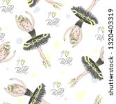 cartoon seamless pattern with... | Shutterstock .eps vector #1320403319