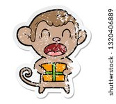distressed sticker of a... | Shutterstock .eps vector #1320406889
