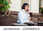 call friend. relax and coffee... | Shutterstock . vector #1320468413