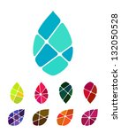 design vector drop water or... | Shutterstock .eps vector #132050528