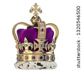 English Golden Crown With...