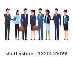 executive business cartoon | Shutterstock .eps vector #1320554099