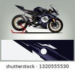 sport bike racing wrap design.... | Shutterstock .eps vector #1320555530