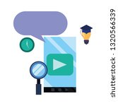 online education school | Shutterstock .eps vector #1320566339