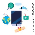 online education school | Shutterstock .eps vector #1320566360