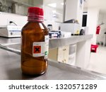 amber bottle to store a... | Shutterstock . vector #1320571289