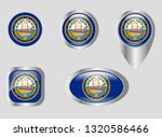 seal of the state of new... | Shutterstock .eps vector #1320586466