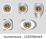 seal of the state of missouri | Shutterstock .eps vector #1320586469