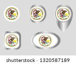 seal of the state of illinois | Shutterstock .eps vector #1320587189