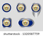 seal of the state of hawaii | Shutterstock .eps vector #1320587759