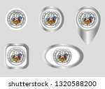 seal of the state of arkansas | Shutterstock .eps vector #1320588200