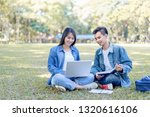 education study abroad  group... | Shutterstock . vector #1320616106