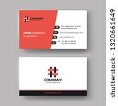 creative business cards...   Shutterstock .eps vector #1320661649