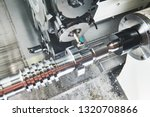 cutting tool at metal working | Shutterstock . vector #1320708866