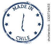 made in chile stamp. grunge...   Shutterstock .eps vector #1320714653