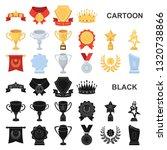 awards and trophies cartoon... | Shutterstock . vector #1320738866