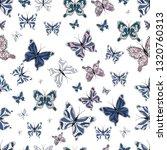 simple feminine pattern for... | Shutterstock .eps vector #1320760313
